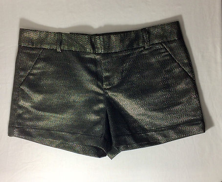 CALVIN KLEIN Metallic Short Shorts - Size 14