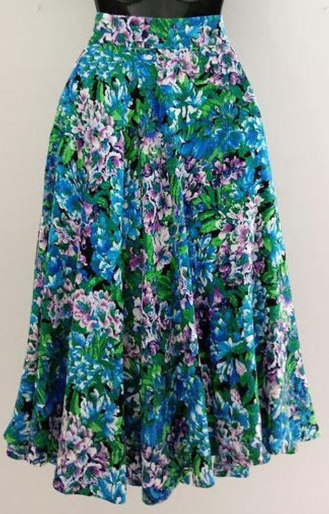 PREMISE Floral Skirt - Size 8