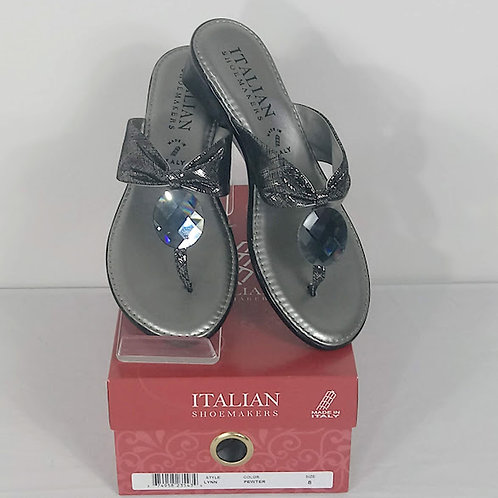 ITALIAN SHOEMAKERS Wedge Sandals - Size 8