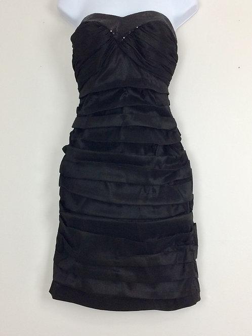 CALVIN KLEIN Strapless Dress with Sequins - Size 6