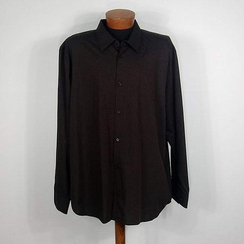 CALVIN KLEIN Men's Dress Shirt - Size XXL