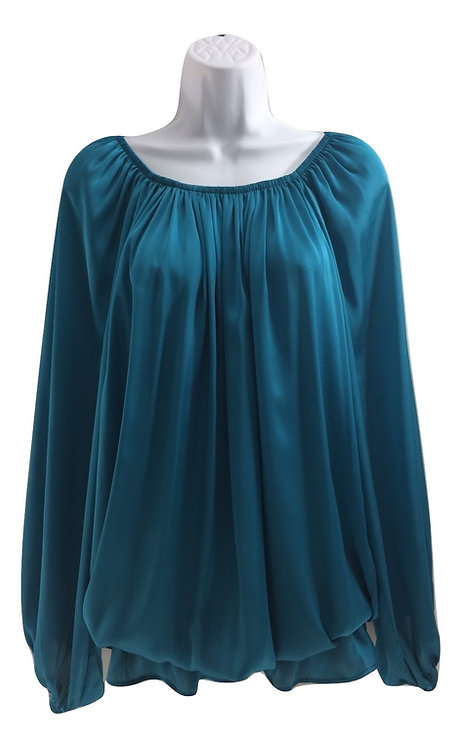 ANN TAYLOR LOFT OLIAN Maternity Peplum Blouse -Size XL