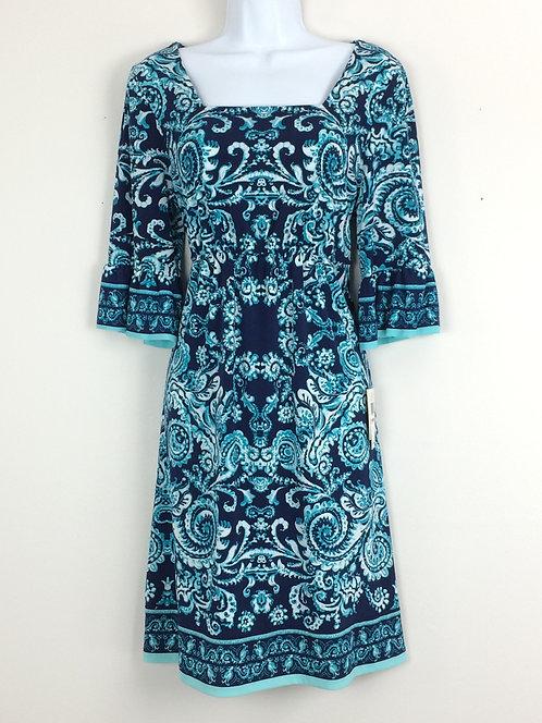 BEIGE by ECI Bell Sleeve Dress - Size 10