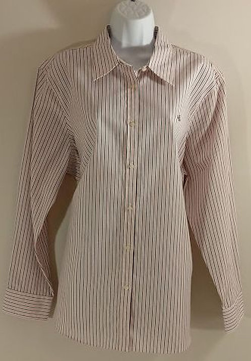 LAUREN by RALPH LAUREN  No-Iron Blouse - Size 2X