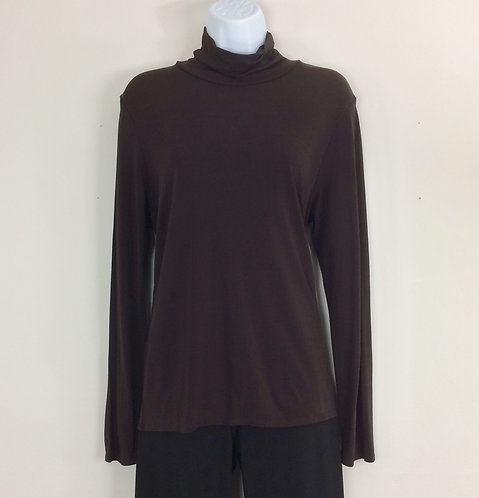 EILEEN FISHER Long Sleeve Turtle Neck - Size M