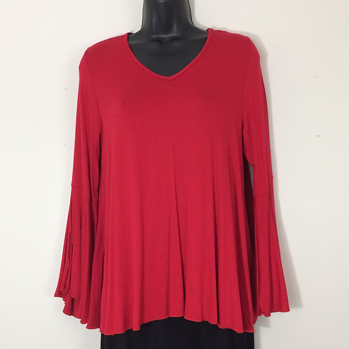 CHA CHA VENTE V-neck Tunic Top - Size S