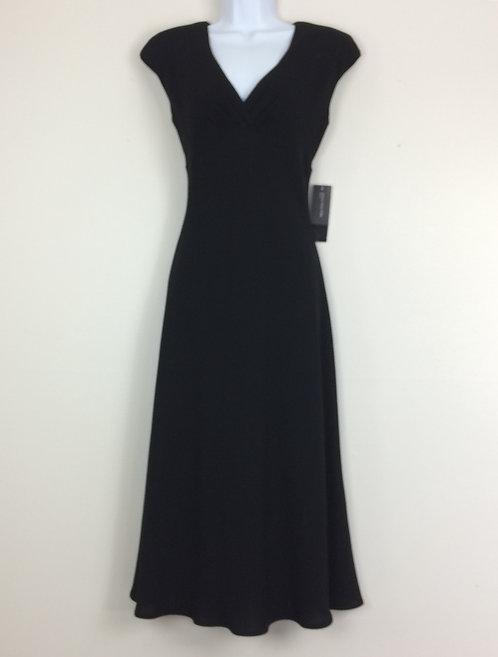 JONES NEW YORK Long V-Neck Dress - Size 6