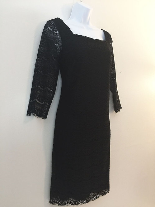 WHITE HOUSE/BLACK MARKET Lace Dress -Size S