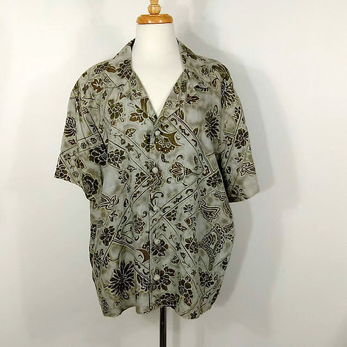 UNIFORM by JOHN PAUL RICHARD Camp Shirt - Size 2X