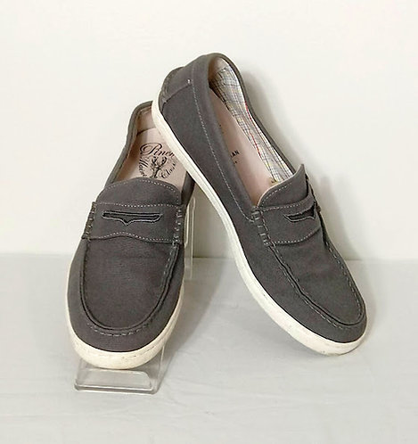 COLE HAAN Canvas Penny-loafers ~ Size 11M