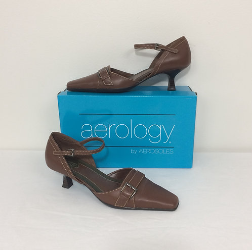 AEROLOGY by AEROSOLES Kitten Heel Shoes - Size 8M