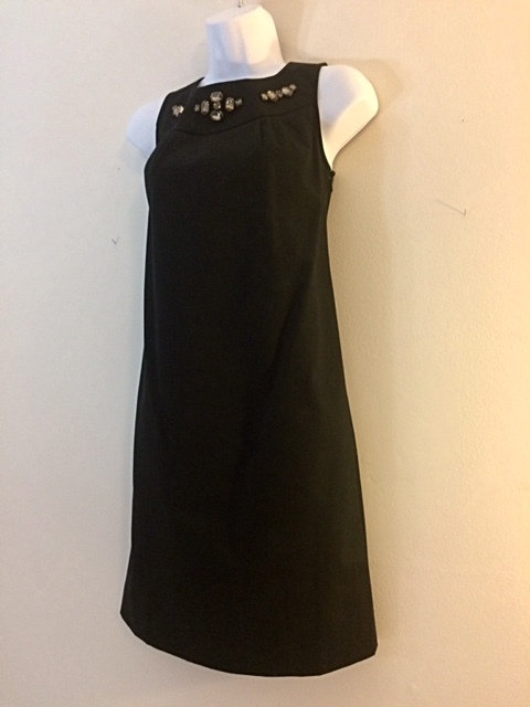 ANN TAYLOR Cocktail Dress with Rhinestone Detail - Size 00