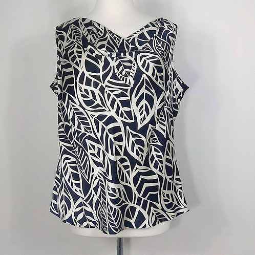 TALBOTS PETITES Silk Tunic Top - Size 16WP