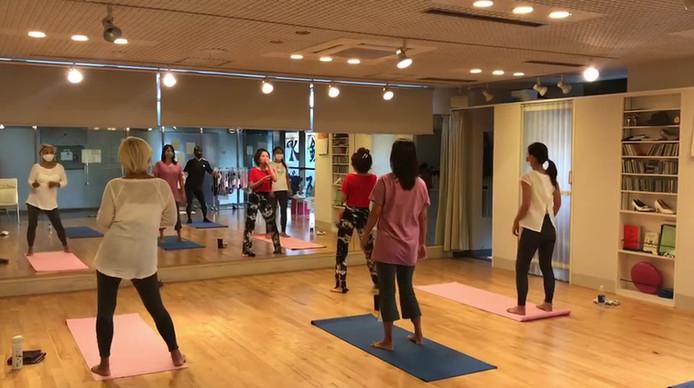 20201025_フローダンスレッスン_鎌倉ダンススクール