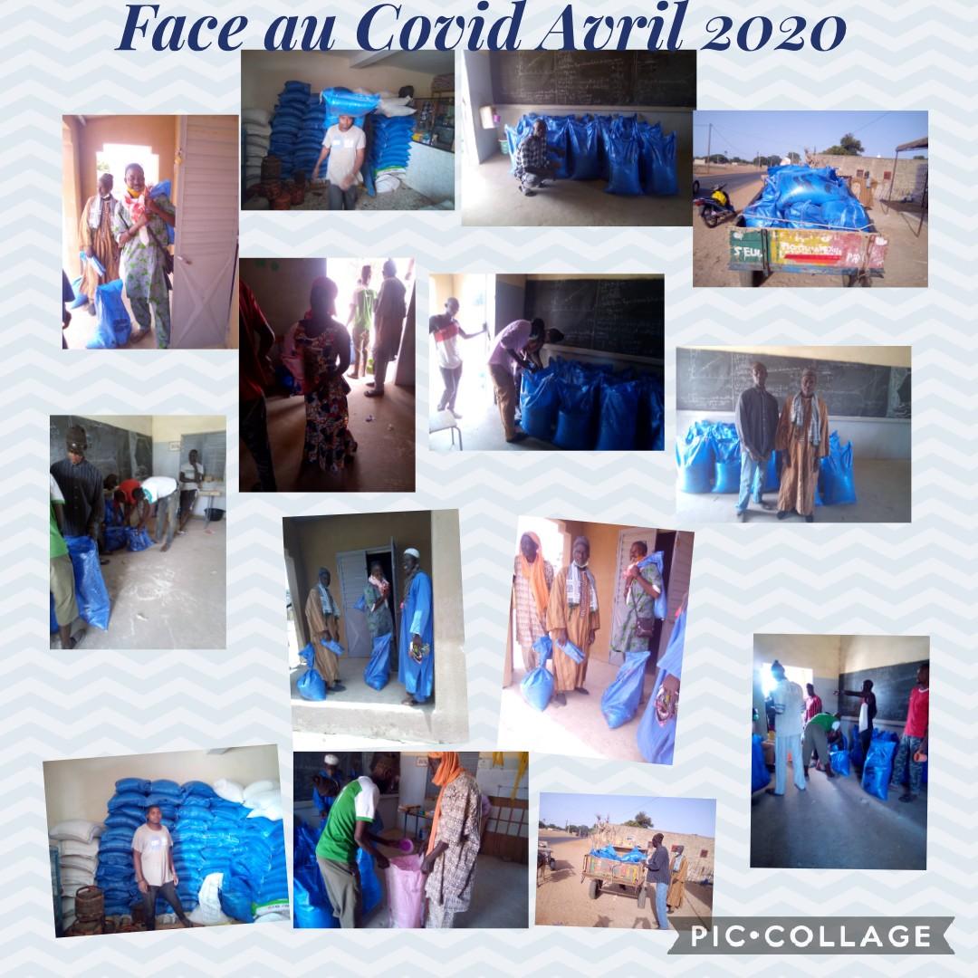 Face au Covid Avril 2020