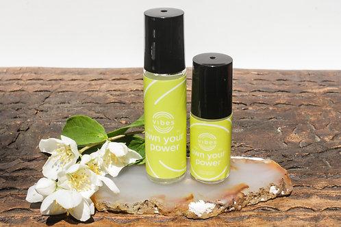 Solar Plexus Chakra Healing Oil Blend//Own Your Power//Self-esteem//Confidence//