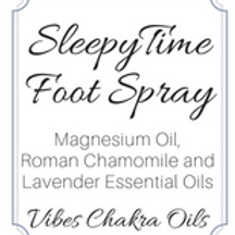 Magnesium Oil Sleepy Time Foot Spray//Lavender//Chamomile//Insomnia//Natural Rem