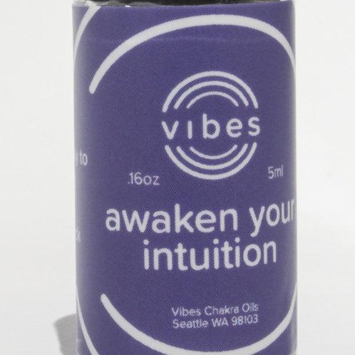 Third-Eye Chakra Healing Oil Blend//Awaken Your Intuition//Ajna//Higher Self//In