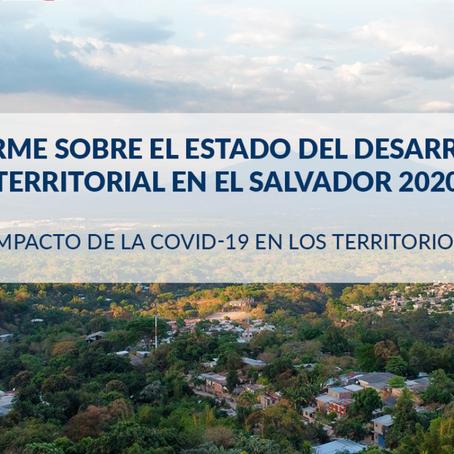 Red CODET presenta el Informe sobre el estado del desarrollo territorial en El Salvador 2020
