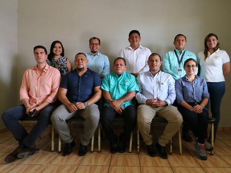 Visita de Hanns Seidel Stiftung al territorio del Valle del Jiboa en El Salvador