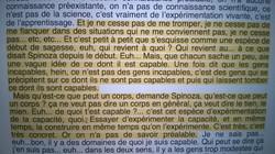 Deleuze/ Spinoza
