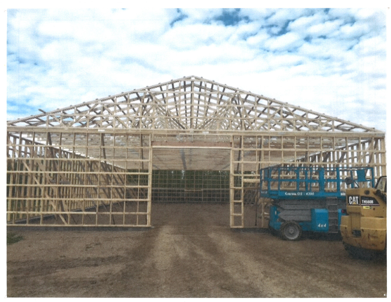 Commercial Shop Framing