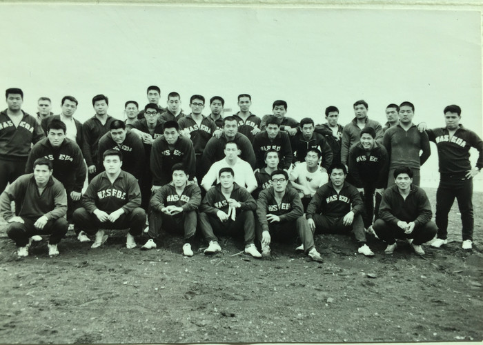 Waseda Judo Team Spring Camp (1969)