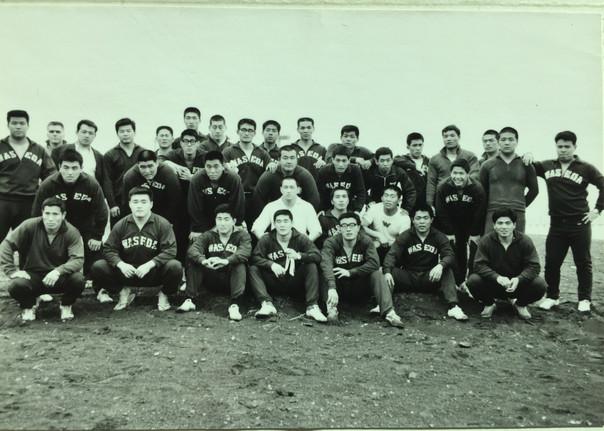 Waseda Judo Team Spring Camp (1969)