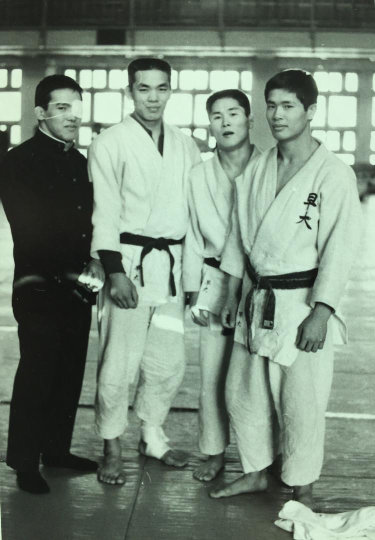 Nori Bunasawa & Teammates at Kodokan Institute (1969)