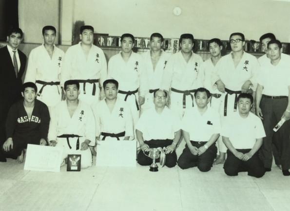 Waseda University Judo Team (1969)