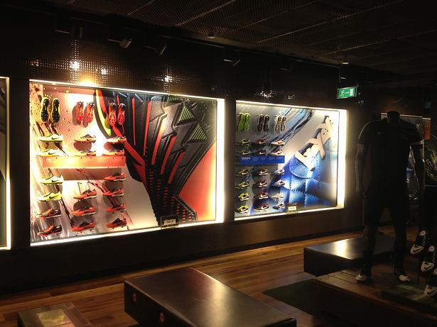 Nike Retail Display London UK