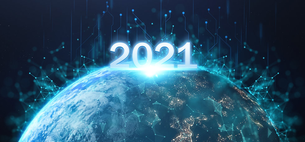 2021 futuristic technology concept, happ