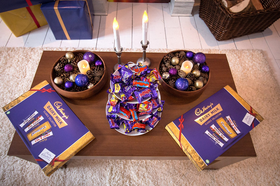 Cadburys Pop up Shop - Interiors