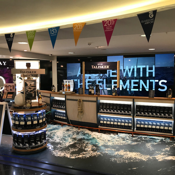 Talisker Bar Travel Retail