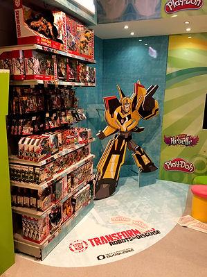 Entertainer Stores UK, Hasbro semi permanent retail stands