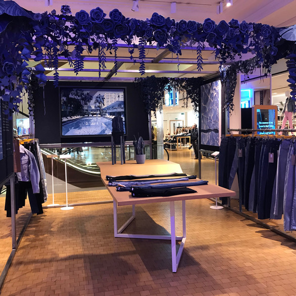E.L.V Denim Retail Stand