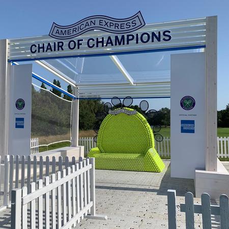 Wimbledon 2019 - Chair of Champions