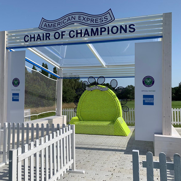 Wimbledon Chair of Champions