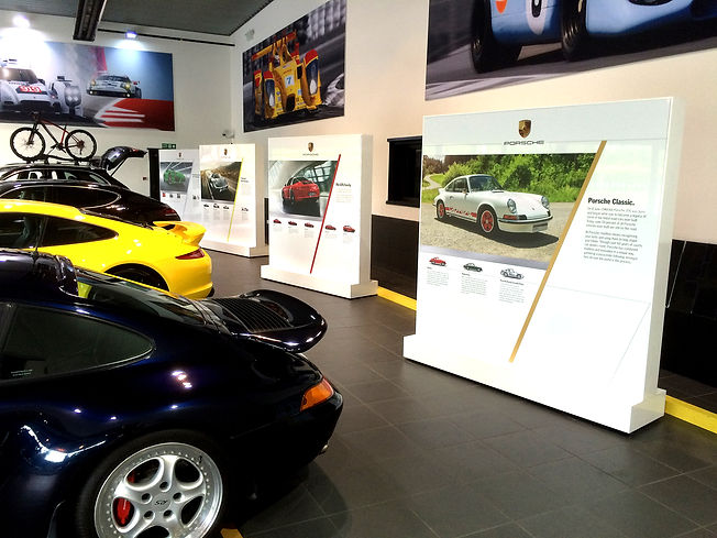 Porche Signage Flagship Dealerships
