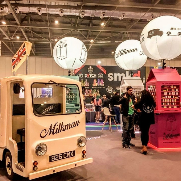 Milkman Exhibition Stand