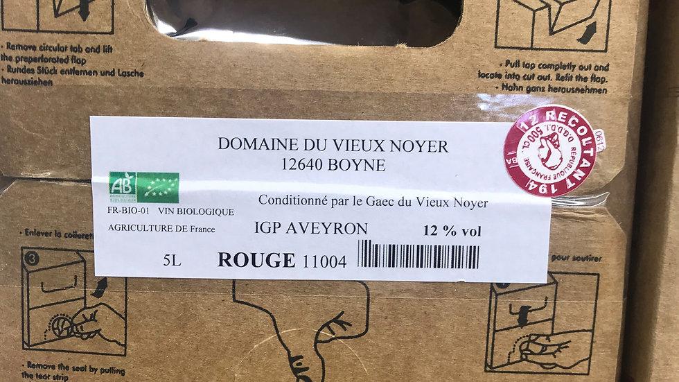 Vins Rouge Bib 5L Domaine du Vieux Noyer
