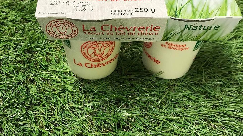 Yaourt de Chèvre 2 x125gr