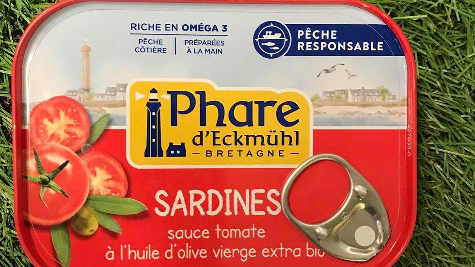 Sardines Tomates et Huile d'Olive 135grconserves