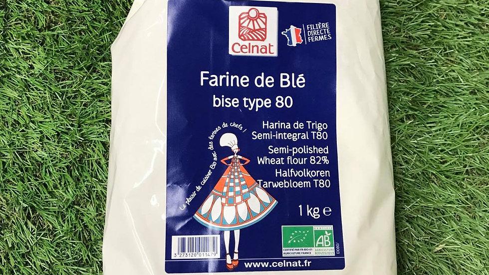 Farine T80 1kg
