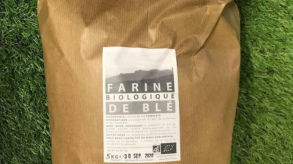 Farine T110 5kg Ferme de Bellevue