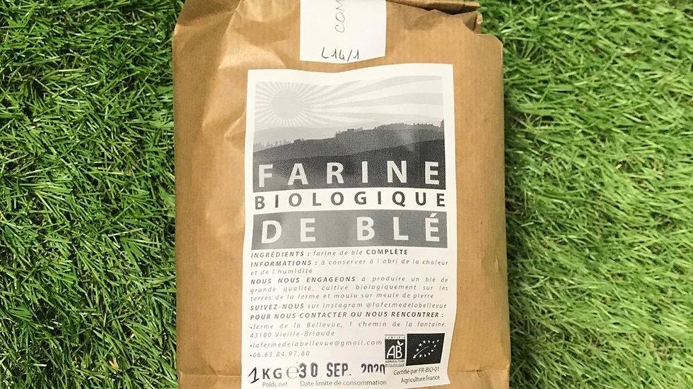 Farine T110 1kg Ferme de Bellevue