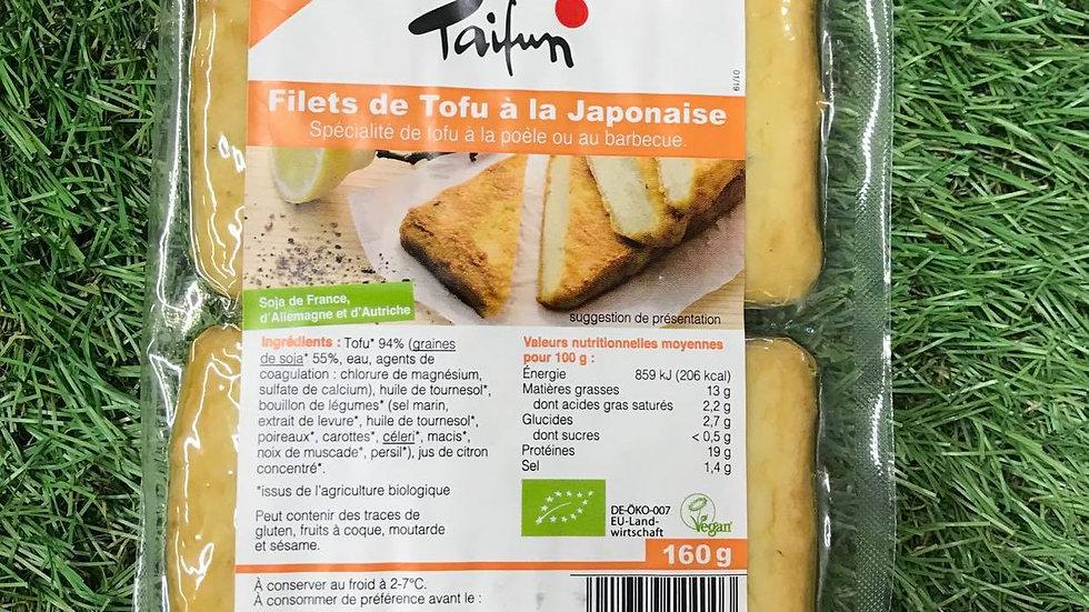 Filets de Tofou à la Japonaise 160gr