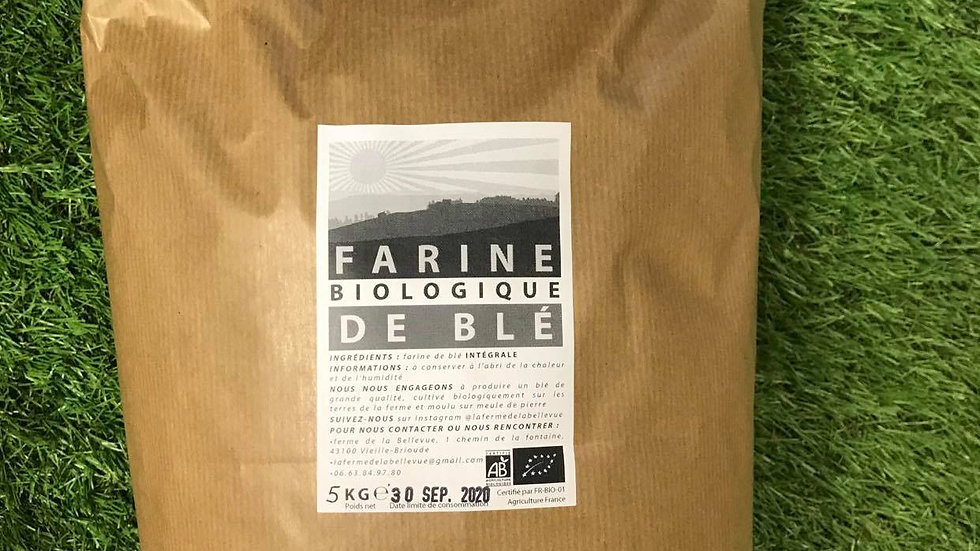 Farine T150 5kg Ferme de Bellevue
