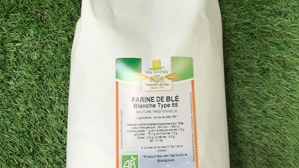 Farine de Blé T55 2.5kg