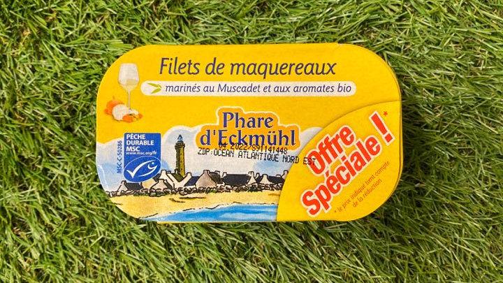 Filets De Maquereaux Au Muscadet 2*118gr